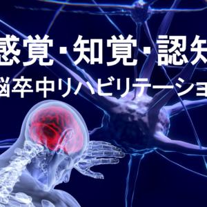 脳卒中リハビリテーション 感覚・知覚・認知について
