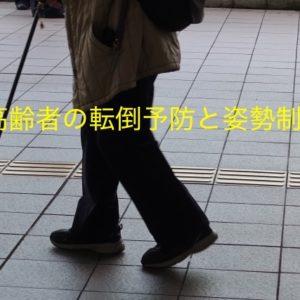 高齢者の転倒予防と姿勢制御