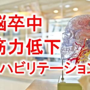 脳卒中後の筋力低下とリハビリテーション